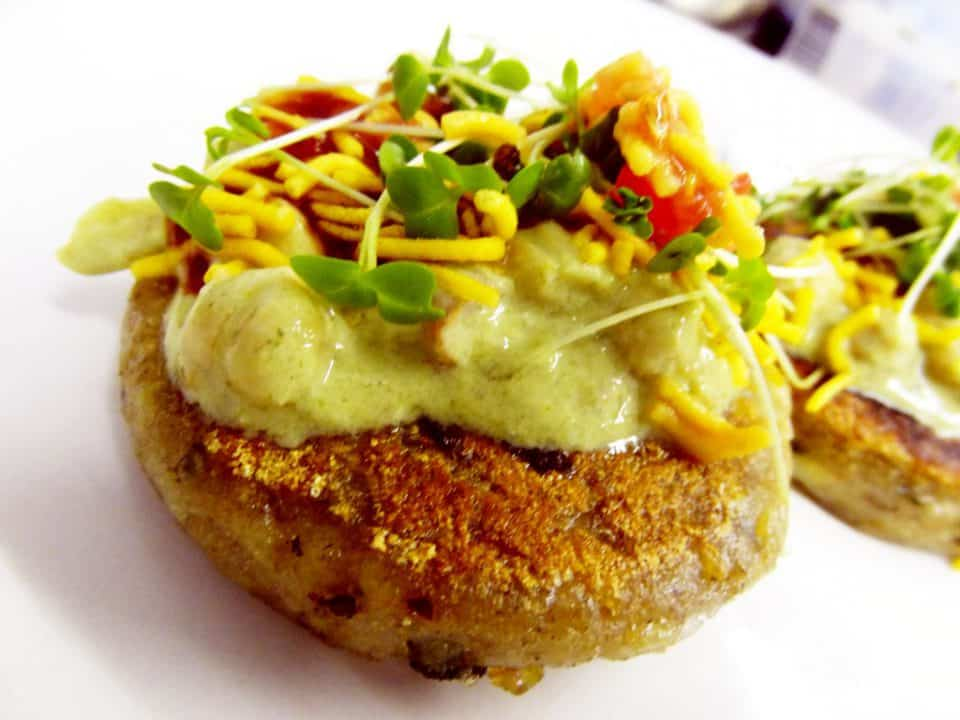 samosa Chaat in south indian wedding catering