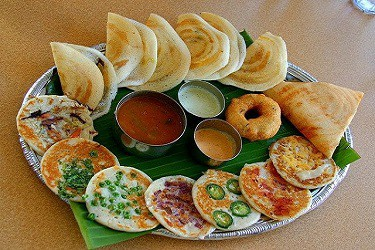 Idly Dosa Wada Thali for catering